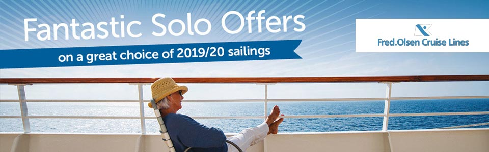 Fred. Olsen Cruise Lines - Solo Traveller Cruise Offers