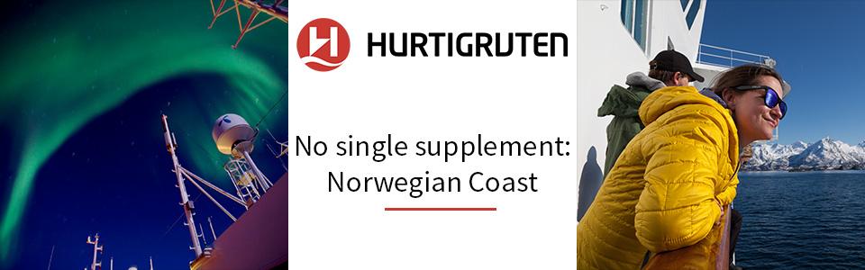 Hurtigruten Solo Traveller Offer