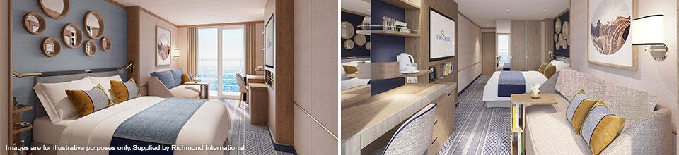 P&O Cruises Iona - Balcony Cabins