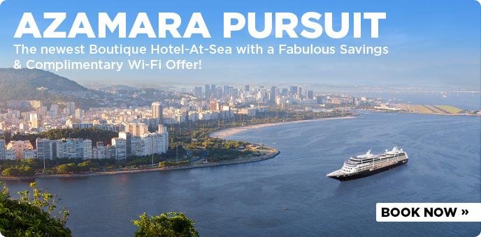 Azamara Club Cruises - New Ship Azamara Pursuit