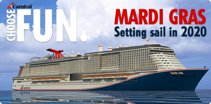 2020 Cruise Deals.The Cruise Village Carnival Cruise Line S Mardi Gras 2020