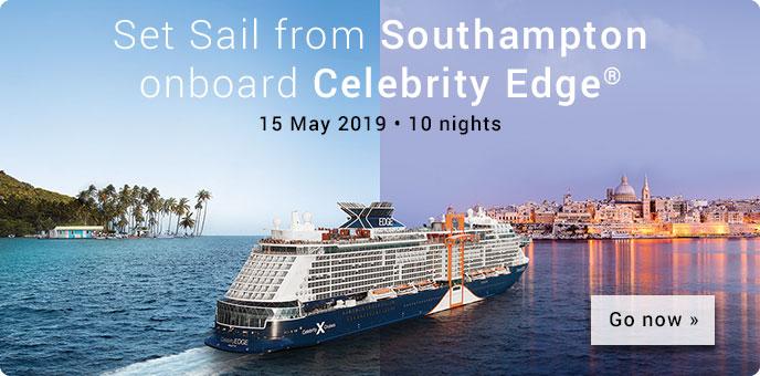 Celebrity Edge 15 May 2019