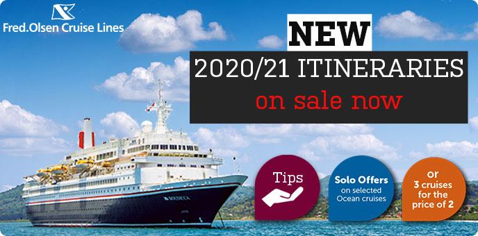 Fred Olsen Cruises 2020 2021