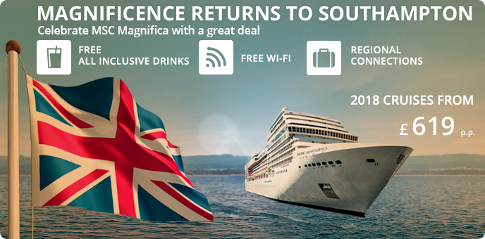 MSC Cruises - All Inclusive Offer 2018