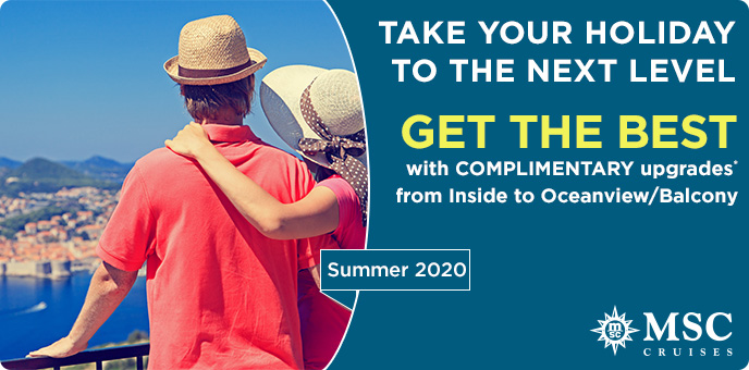 MSC Cruises - Regional Flights in 2020 with Get the Best