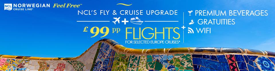 Norwegian Cruise Line £99 flights