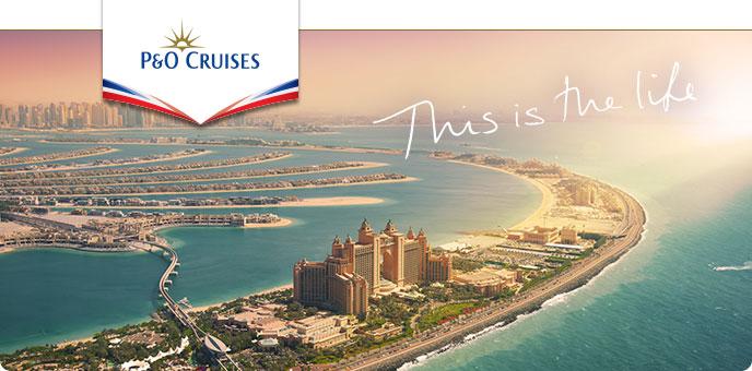 P&O Cruises : Oceana in the Arabian Gulf 2019, 2020 & 2021