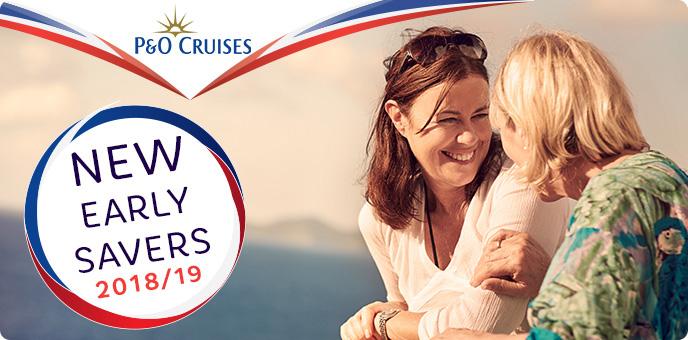 P&O Cruises 2018 Early Savers