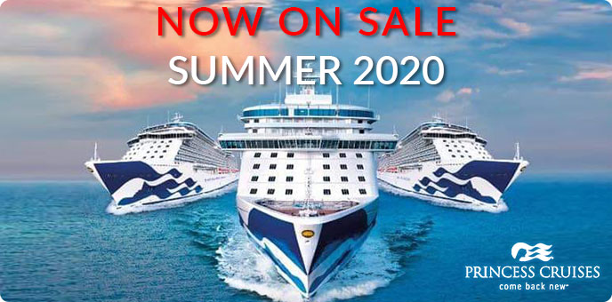Princess Cruises - 2020 sailings