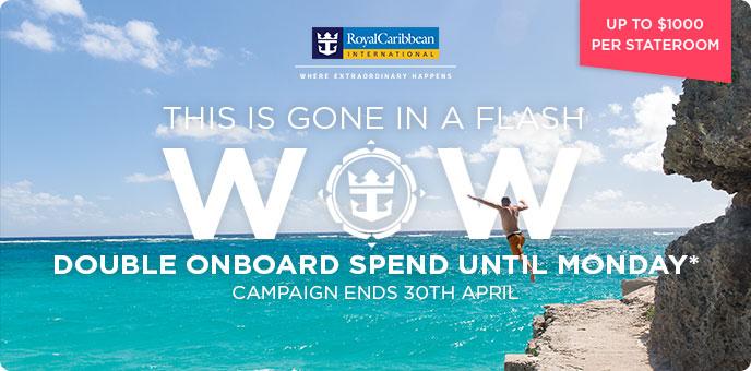 Royal Caribbean - 2018/19 Cruise Savings & Spending Money