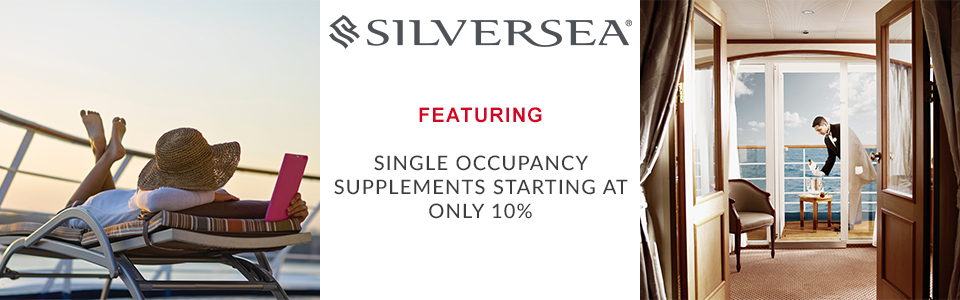 Silversea Solo Traveller Cruise Offer