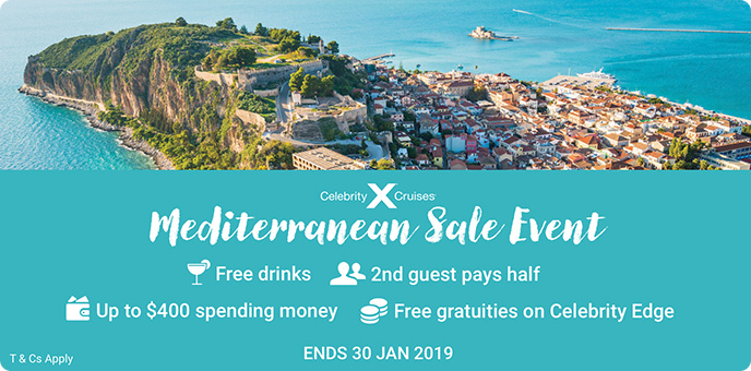 Celebrity Cruises - Mediterranean Sale Event