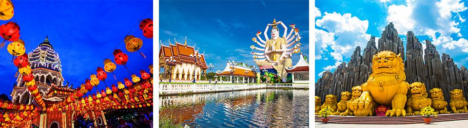 Malaysia, Thailand, Vietnam