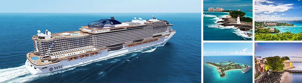 Miami & Eastern Caribbean cruises onboard MSC Seaside