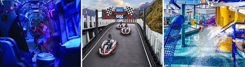 Laser Tag, Go Karting & Aqua Park