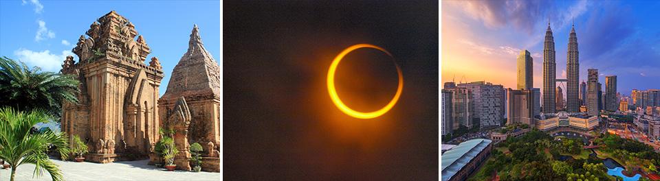 Nha Trang, Solar Eclipse, Kuala Lumpur