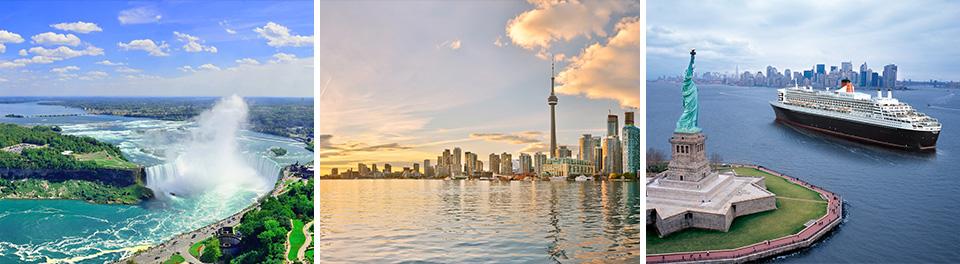 Niagara Falls, Toronto & New York