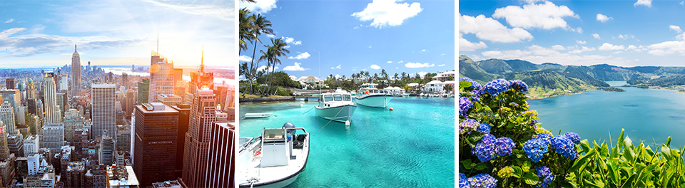 New York, Bermuda & The Azores Cruise
