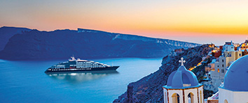 Scenic, Santorini