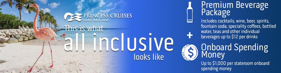 Princess Cruises - All Inclusive Caribbean