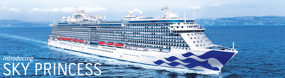 Sky Princess 2019 Cruises From The Cruise Village