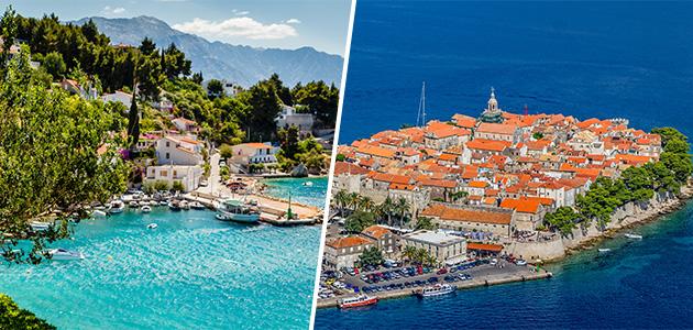Split & Korčula