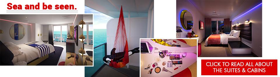 Virgin Voyages Cabins & Suites