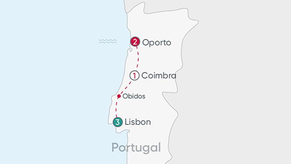 Portugal Explorer Map