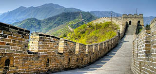 Escorted tours to China
