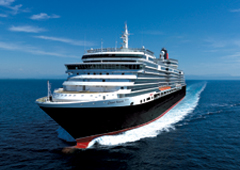 Queen Victoria, one of the most luxurious ships at sea.