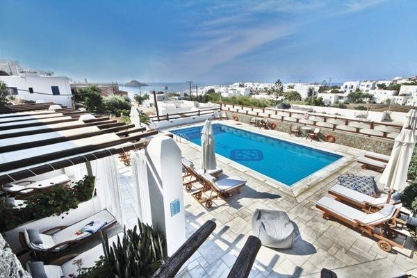 Hotel Pelican Bay Art Mykonos