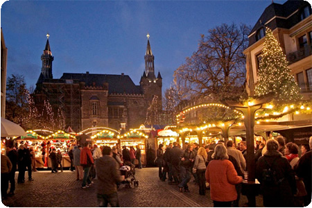 Valkenburg, Aachen & Magical Maastricht Christmas Markets