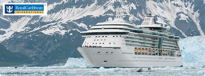 Ship on icy sea