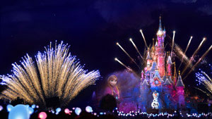 New Year in Disneyland Paris