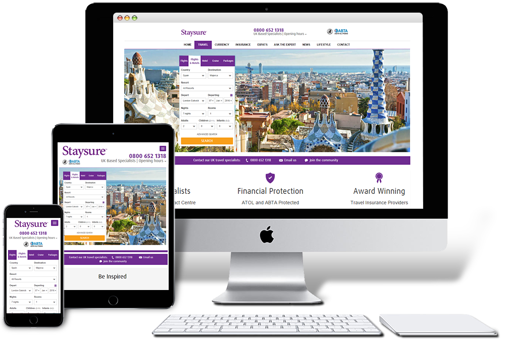 Mobile Friendly Travel Websites
