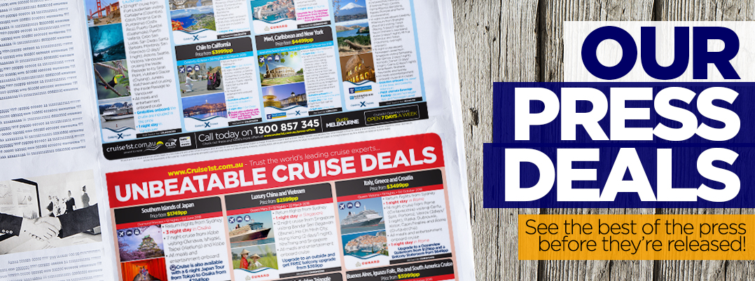 Cruise1st Australia Press Offers