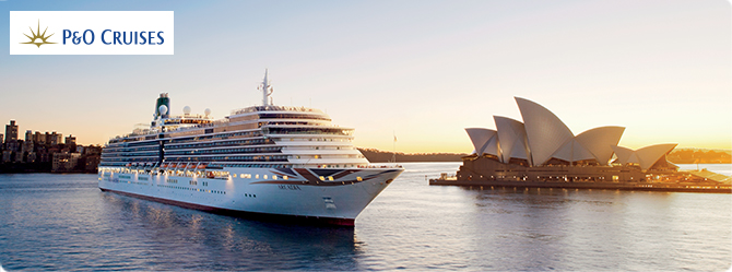 P&O World Cruises - Cruise1st Australia Cruise Deals
