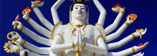 Buda de 18 brazos: Ko Samui