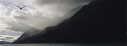 Paisajes bucólicos de los fiordos chilenos