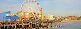 Sol y diversión en California