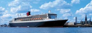 Cunard, siempre una atracción en el puerto