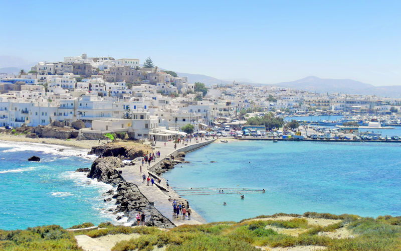 Holiday to naxos