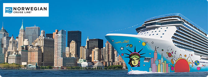 Norwegian Cruise Line Breakaway ship