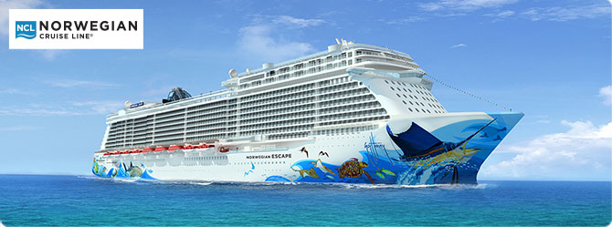 Norwegian Cruise Line Escape Ship
