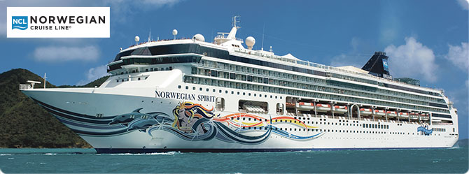 Norwegian Cruise Line Spirit Ship