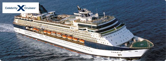Celebrity Cruises with Celebrity Summit