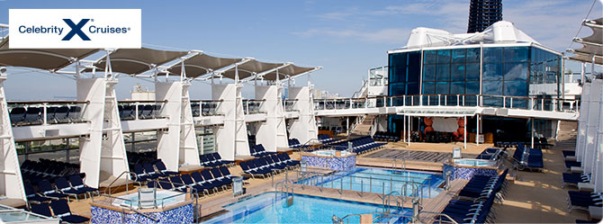 Celebrity Cruises with the Reflection