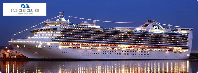 Princess Cruise Line Caribbean Princess Ship