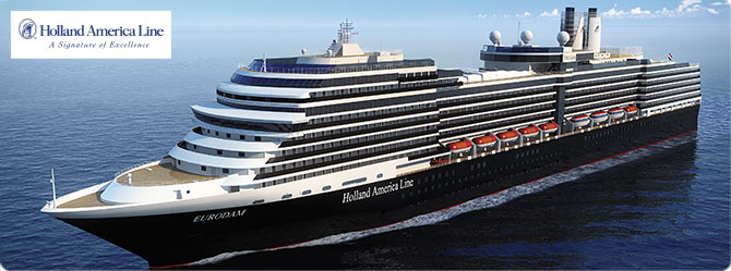 Holland America Cruise Line MS Eurodam