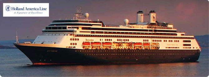 Holland America Cruise Line MS Rotterdam
